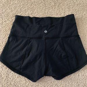 lululemon athletica Shorts - Lululemon High wasted spandex shorts / 2inch